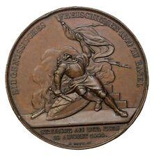 1844 Switzerland Antoine Bovy Swiss Shooting Medal 37.5mm