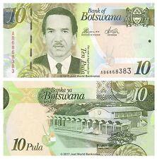Botswana 10 Pula 2012  P-30c  Banknotes  UNC