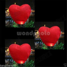 10PCS Chinese Paper Sky Flying Lanterns Fire Light Wishing Lamp Party Wedding