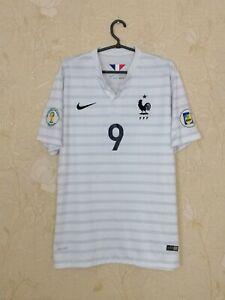France 2014 - 2015 away football shirt jersey NIKE #9 Giroud size XL
