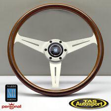 Nardi Steering Wheel ND CLASSIC WOOD Grain Polished Spokes 360mm 5061.36.1090