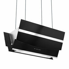 Premium Inselhaube 90 cm kopffrei SensorTouch LED-Bel. EEK A ML 800 cbm/h