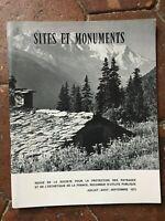 Rivista Site E Monumenti Protezione Delle Paesaggi Estetica Di Francia 1973