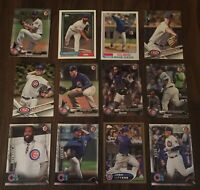 Lot of 50 Chicago Cubs Baseball Cards