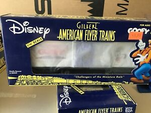 American Flyer # 48349, GOOFY BOXCAR,nos,new s scale 3/16 train  lionel
