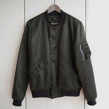 A.P.C. Satin-Look Bomber APC Jacket Extra Small