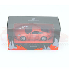 Genuine Porsche 911 (992) Carrera 4S (2019) Lava Orange Maisto 1:43 WAP0200270K