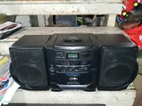 1996 JVC PC-X55  CD Compact Disc, Cassette,  AM/FM Radio Tested And Works