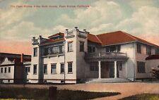 Postcard Paso Robles Hotel Bath House in Paso Robles, California~111115