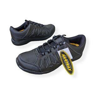 Safetrax Size 8 1/2 Women Brenna Slip Oil Resistant Work Shoe Size 8 Black 20237