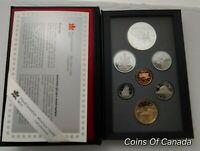 1992 Canada 7 Coin Prestige Silver Dollar PROOF Set - DEEP CAMEO #coinsofcanada