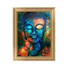 DIY 5D Diamond Embroidery Buddha Painting Cross Stitch Craft Home Decor