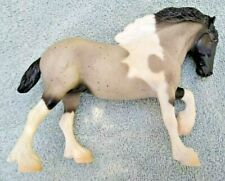 Breyer Paddock Pals #1638 Spotted Drafter Blue Roan Clydesdale Mold Retired