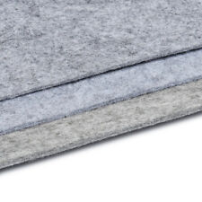 1Pc Gray Wool Felt Sheets DIY Craft Polyester Wool Blend Fabric Bag Material
