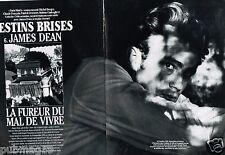 Coupure de Presse Clipping 1993 (17 pages) James Dean Destins Brisés