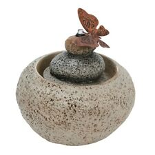 Stone Rock Cairn Water Fountain – Indoor Table Fountain