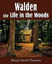 Walden or Life in the Woods by Henry David Thoreau (2011, Paperback)
