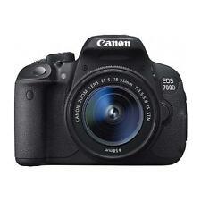 Canon EOS 700D 18.0MP Digital SLR Camera - Black (Kit w/ EF-S 18-55mm IS STM...