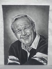 Arnold Palmer Masters Champ Signed Jose Original Charcoal Drawing L/E #5/50 JSA
