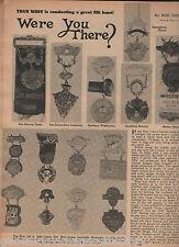 Elk Badges, Lodges, Members History Showing Old Pics+Alexander,Gillett,Thomas
