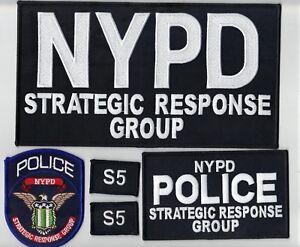 Strategic Response Group S-5 Staten Island Officer 5-piece Set