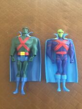 Lot Of Two Vintage Martian Manhunter DC Comics B4541