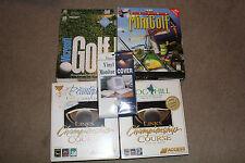 Vintage Microsoft Windows Links Golf Games 1994