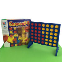 Connect 4 MB Games 1999 Vintage Counter Strategy 4 In A Row Kids Family Fun Toy