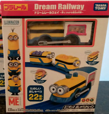 Tomy Trackmaster Plarail Pla Rail Minions Talking Train Motorized Train