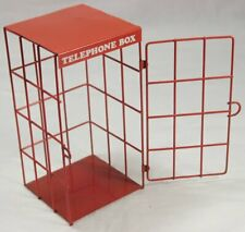 Vintage Red Telephone Box Cage / Locker / Sage