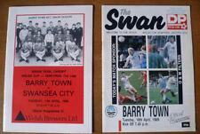 Teams S-Z Swansea City Welsh Cups Final Football Programmes
