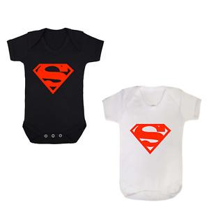 SUPERMAN BABY GROW