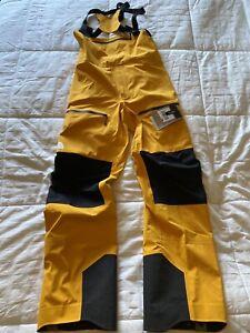 Mens The North Face L5 Dryvent LG/REG FZ Ski Bib Summit Gold/Blk NWT Retail $549