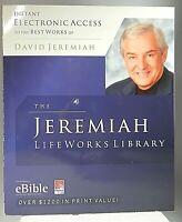 David Jeremiah: The Jeremiah LifeWorks Library [CD-ROM, 2008] NEW SEALED