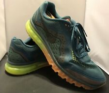 the best attitude db491 57981 Men s Nike Air Max 2014 Running Shoes Turquoise Orange Volt Size 13 621077  308