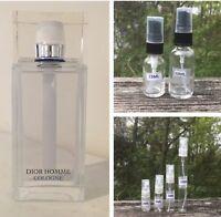 Dior Homme Cologne Sample Decant 2ml 3ml 5ml 10ml 15ml 30ml Spray