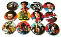 "12 WELCOME BACK KOTTER - Pinbacks 1"" Pins ONE Inch Badges Retro TV Babarino"