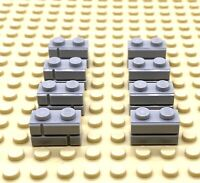 Lego Part 6000066 Profile Brick 1x2 Light Grey 98283 8x Parts Masonry Brick