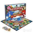Nouveau Sonic The Hedgehog Boom Monopoly Jeu De Société Familial Hasbro Officel