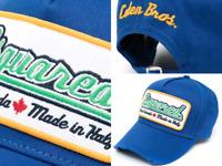 Dsquared2 Icon Oversized Patch Eden Baseballcap Cap Kappe Basebalkappe Hat Hut