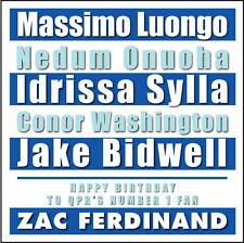 QPR-Personalizzato Compleanno Card-Tipografia