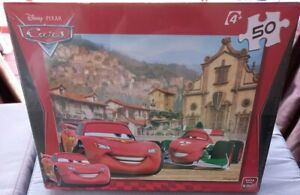 Disney Pixar Cars Childrens Kids 50 Piece Jigsaw Puzzle New Sealed