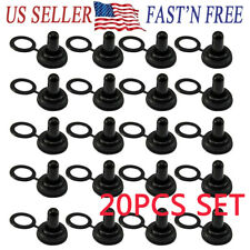 20pcs Set 12mm Toggle Switch Waterproof Rubber Resistance Boot Cover Cap