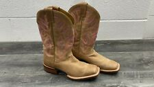 Nocona Western Boots Womens Low Profile Square Toe Tapered Heel (LD5307) Size: 8
