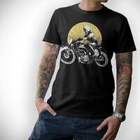 BIKER T-Shirt - VINTAGE MOTORCYCLE - Motorrad Schrauber Oldschool MC S - 5XL