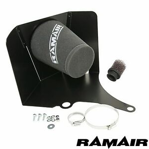 Ramair Cone Air Filter Heat Shield Induction Intake Kit for VW Polo GTI 1.8t 9N3