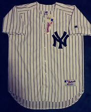NEW YORK YANKEES   2001 AUTHENTIC 911 MEMORIAL FLAG TRIBUTE JERSEY SZ 40