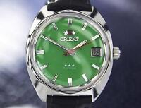Orient 1968 Manual Wind Rare Men's Vintage 17 Jewel Japanese Watch X7091
