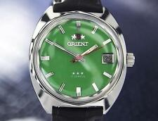 Orient 1968 Manual Wind Rare Men's Vintage 17 Jewel Japanese Watch X7091