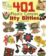 401 Itty Bitty Plastic Canvas Patterns Magnets Ornaments FREE SHIPPING